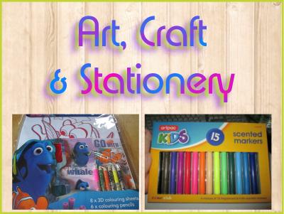 Art, Craft & Stationery
