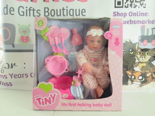 Teeny Tiny - My First Talking Baby Doll 10pc Wedge Box Set