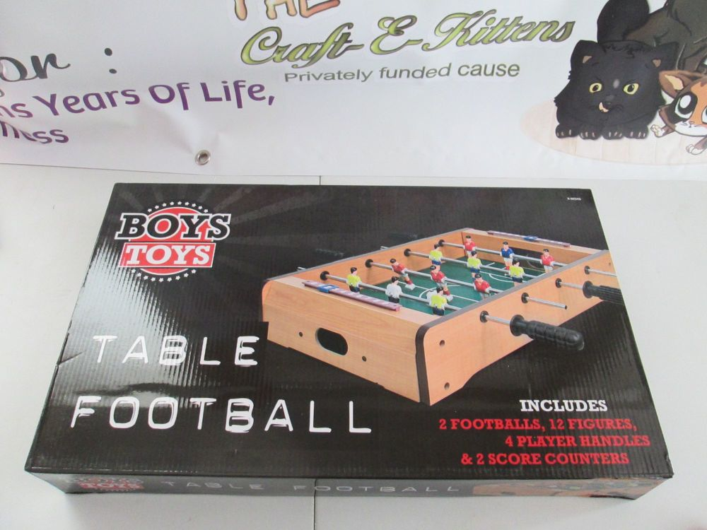 Boys Toys - Table Top Mini Table Football Game