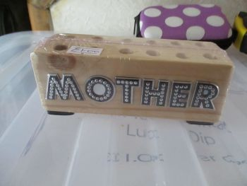Mother - Wooden Stationery Caddy - Des In The Shed