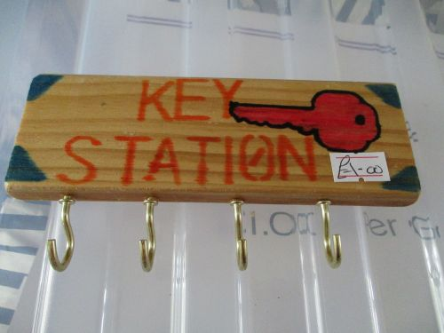 Pink Key Station - Wooden Key Caddy - Des In The Shed
