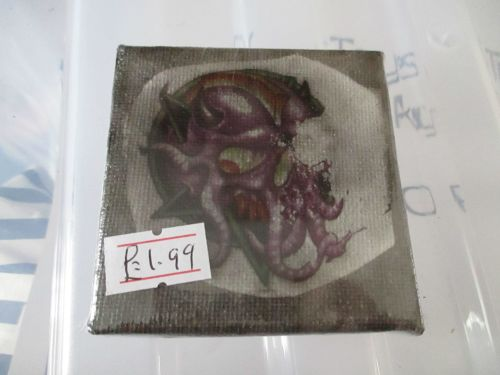 Cthulhu Skull - Test - 7cm Box Frame Canvas - JGPaws