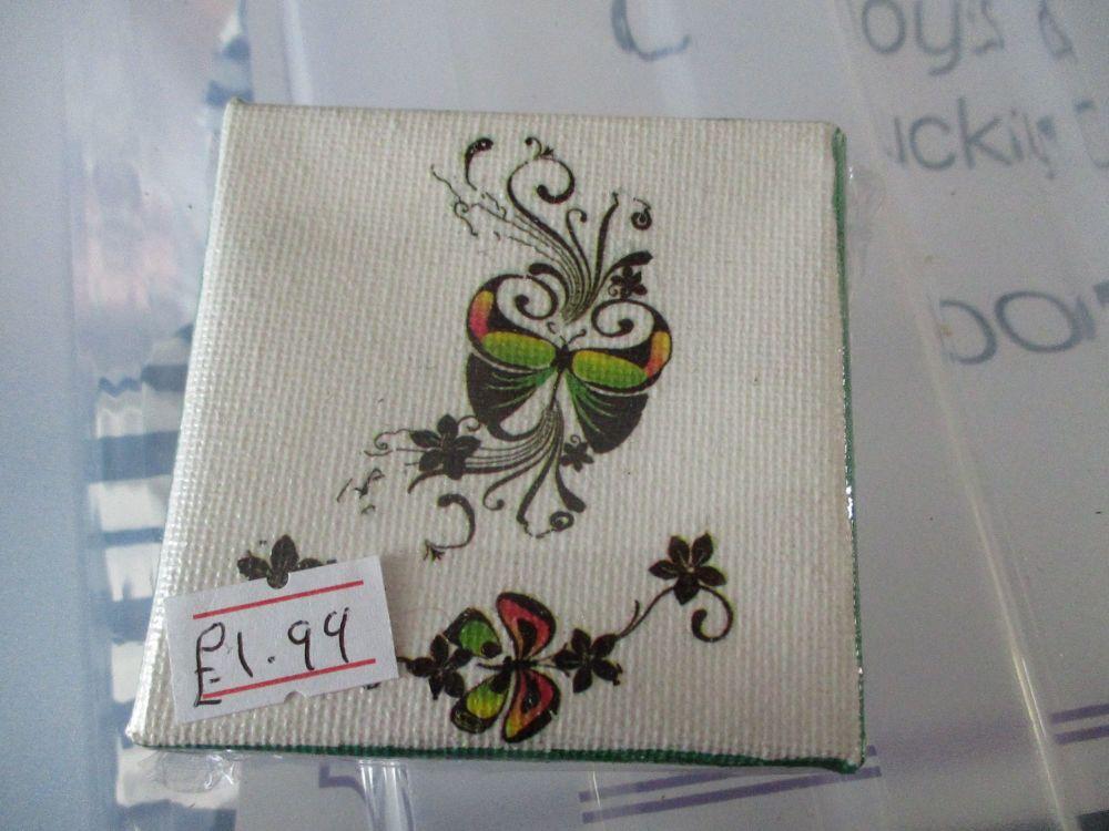 Butterflies - 7cm Box Frame Canvas - JGPaws