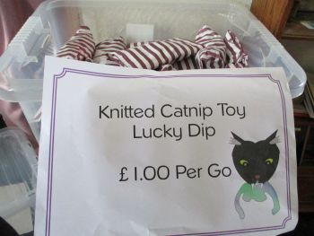 Knitted Catnip Toy Lucky Dip