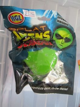 Green - Splat Alien from the planet Scardox