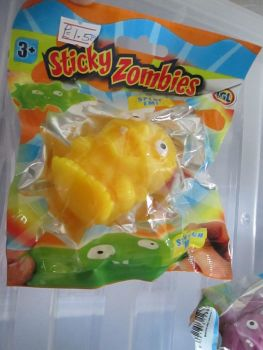 Yellow - Sticky Zombies - Splat Em!