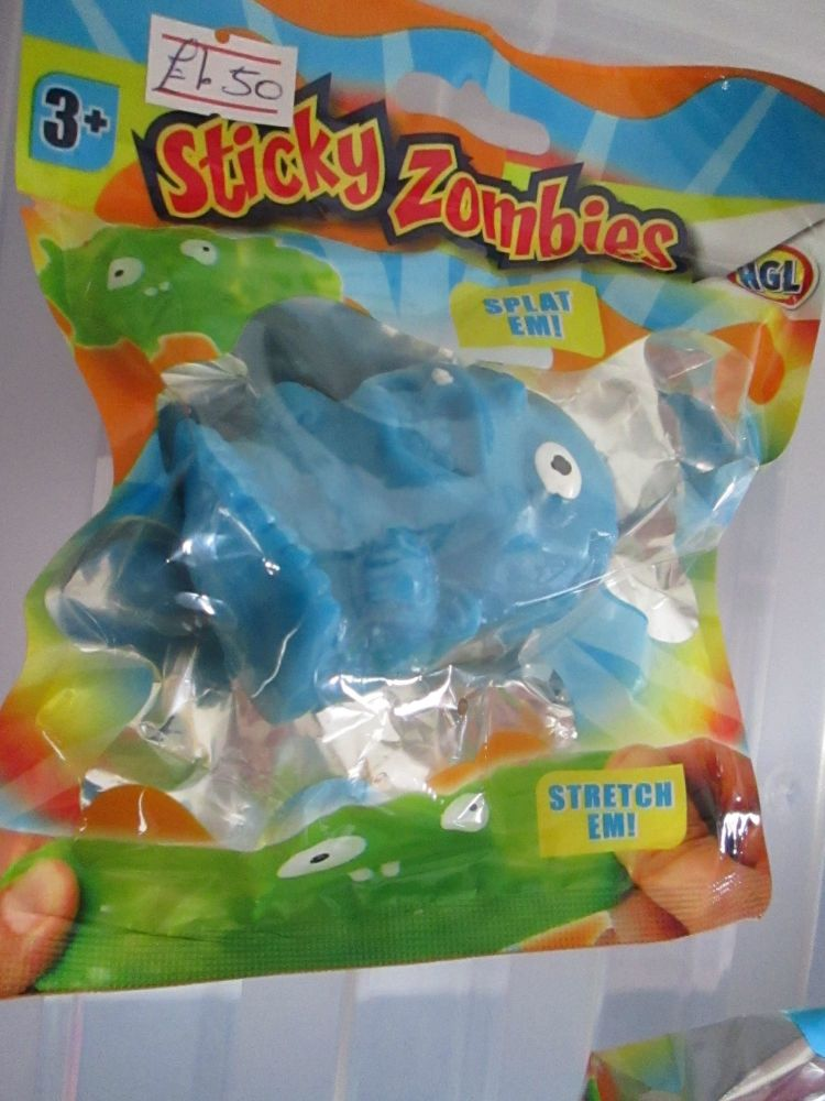 Blue - Sticky Zombies - Splat Em!