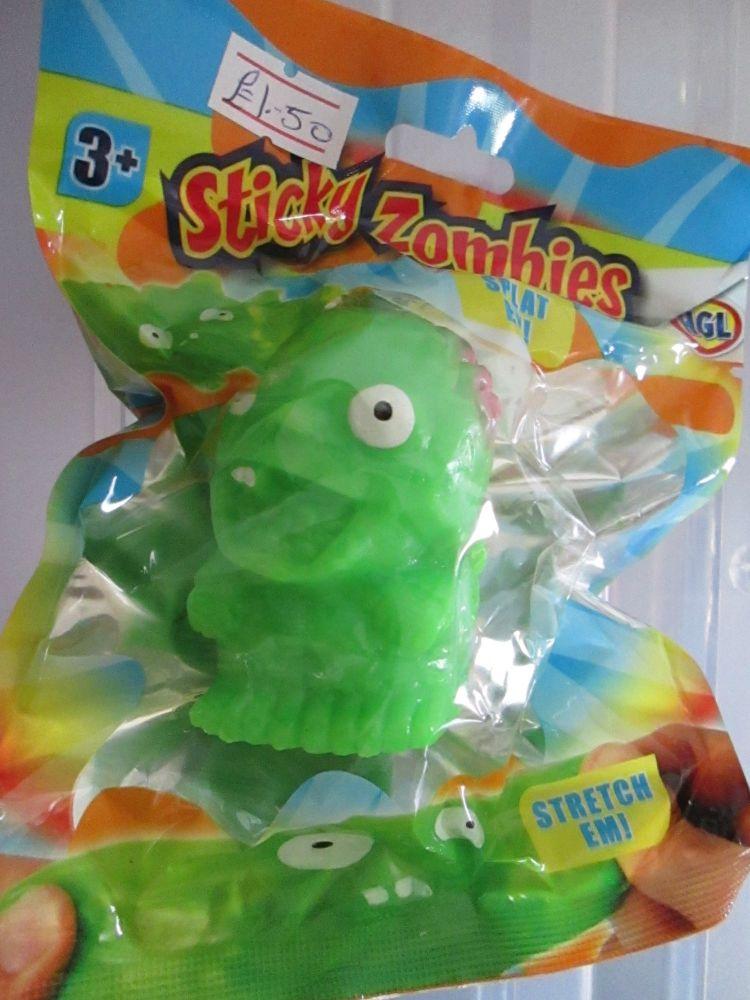 Green - Sticky Zombies - Splat Em!