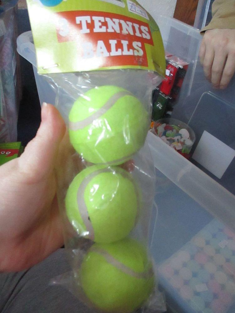 3 Tennis Balls Pack