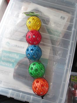 Fletchers Chase & Chew 5Pk Plastic Balls