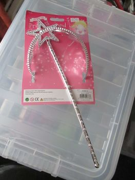 Hearts - Dress Up Princess Crown & Wand Set
