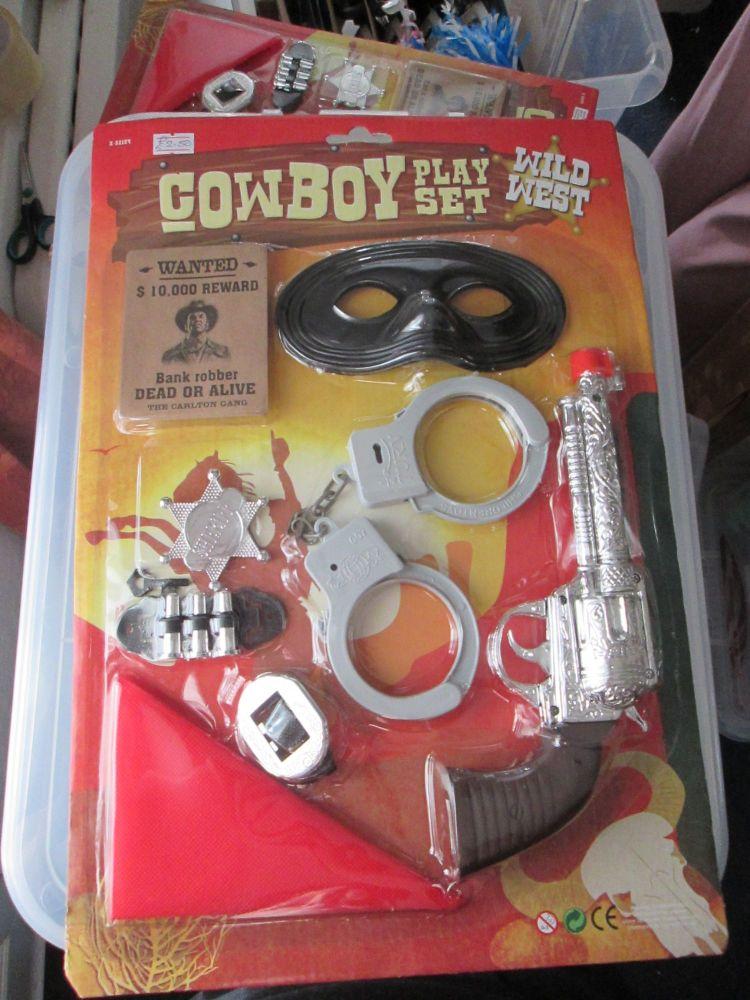 Cowboy Playset Wild West