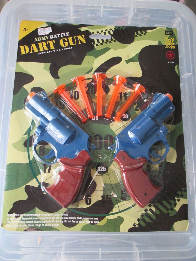 Army Battle Dart Gun Set