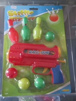 Red - Skittle Blaster Ball Gun