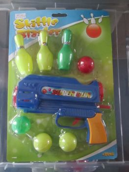 Blue - Skittle Blaster Ball Gun