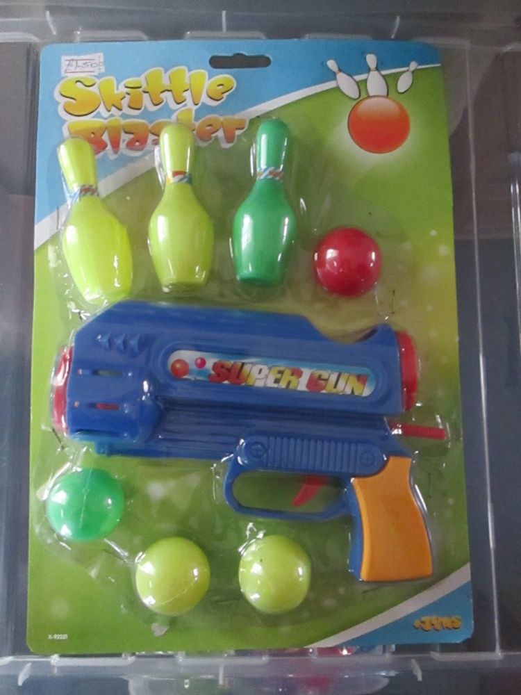 Blue - Skittle Blaster Ball Gun
