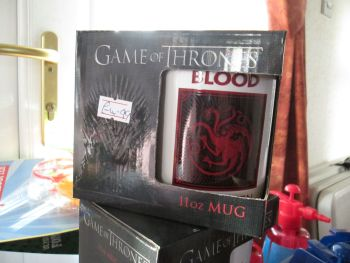 Fire & Blood Targaryn 11oz Game Of Thrones Official Licensed Mug
