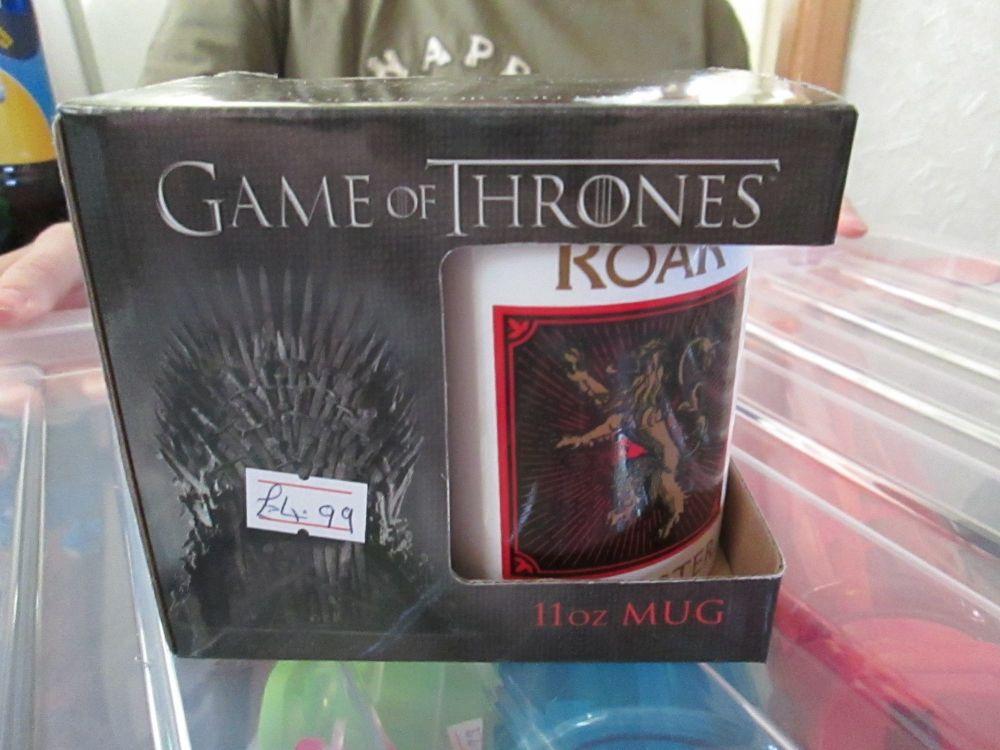 Hear Me Roar Lannister 11oz Game Of Thrones Official Licensed Mug