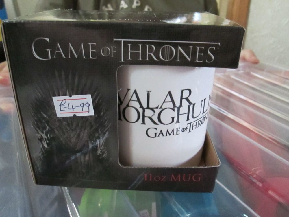Valar Morghulis 11oz Game Of Thrones Official Licensed Mug