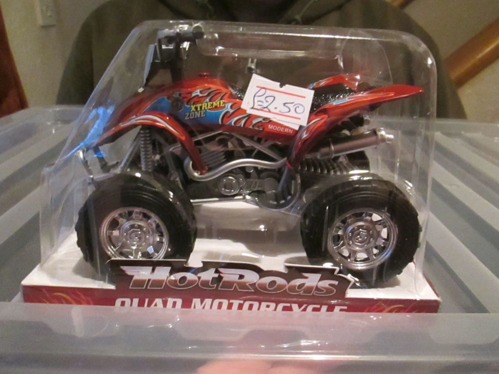 Red Hot Rods Quad Motorcycle Quadbike