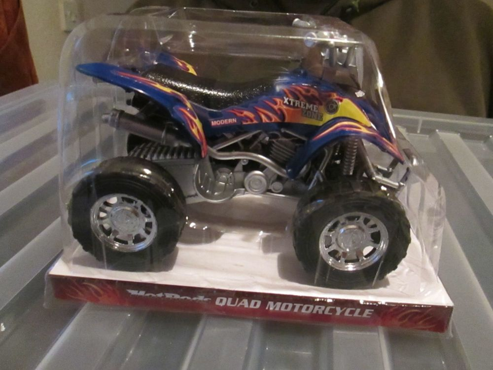 Blue Hot Rods Quad Motorcycle Quadbike