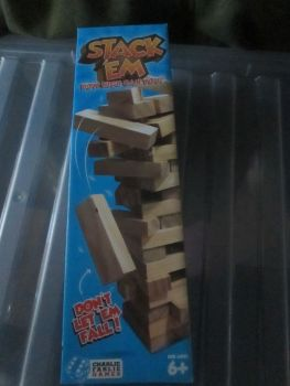 Wooden Stack 'Em Game