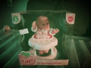 Stroller / Walker Set - Teeny Tiny My First Baby Doll Set