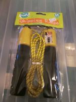 Black 2.8m Skipping Rope with Counter