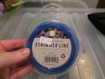 Blue 1.65mm Strimmer Line 2m