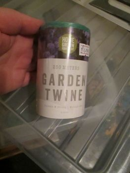 Green Gardening Twine 250m - Home Grown Planting