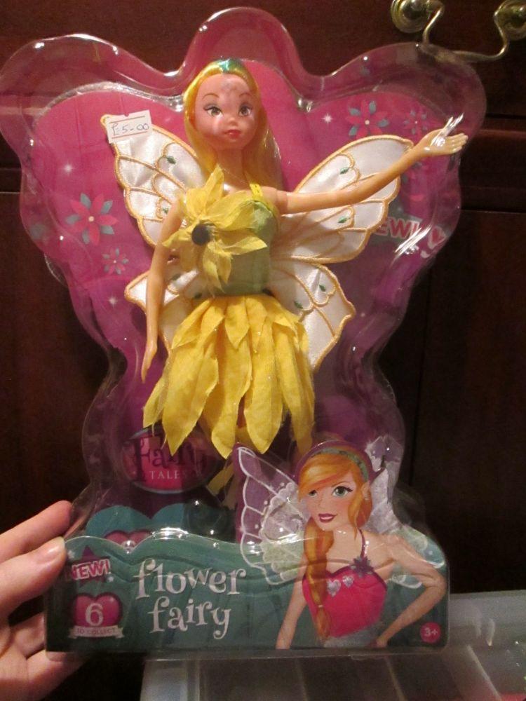 Buttercup Flower Fairy Doll