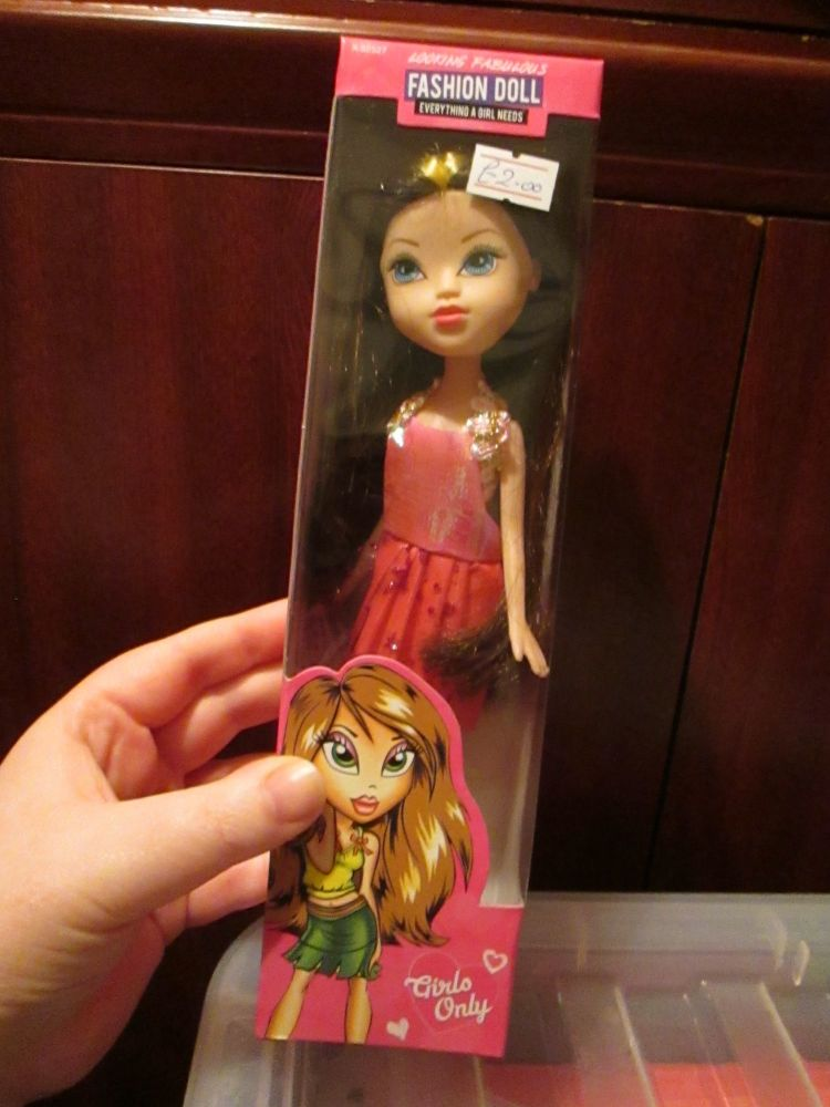 Pink Dress - BH Fashion Doll
