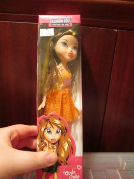 Orange Dress - BH Fashion Doll