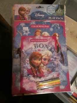 Disney Frozen - Licensed Colouring Play Pack