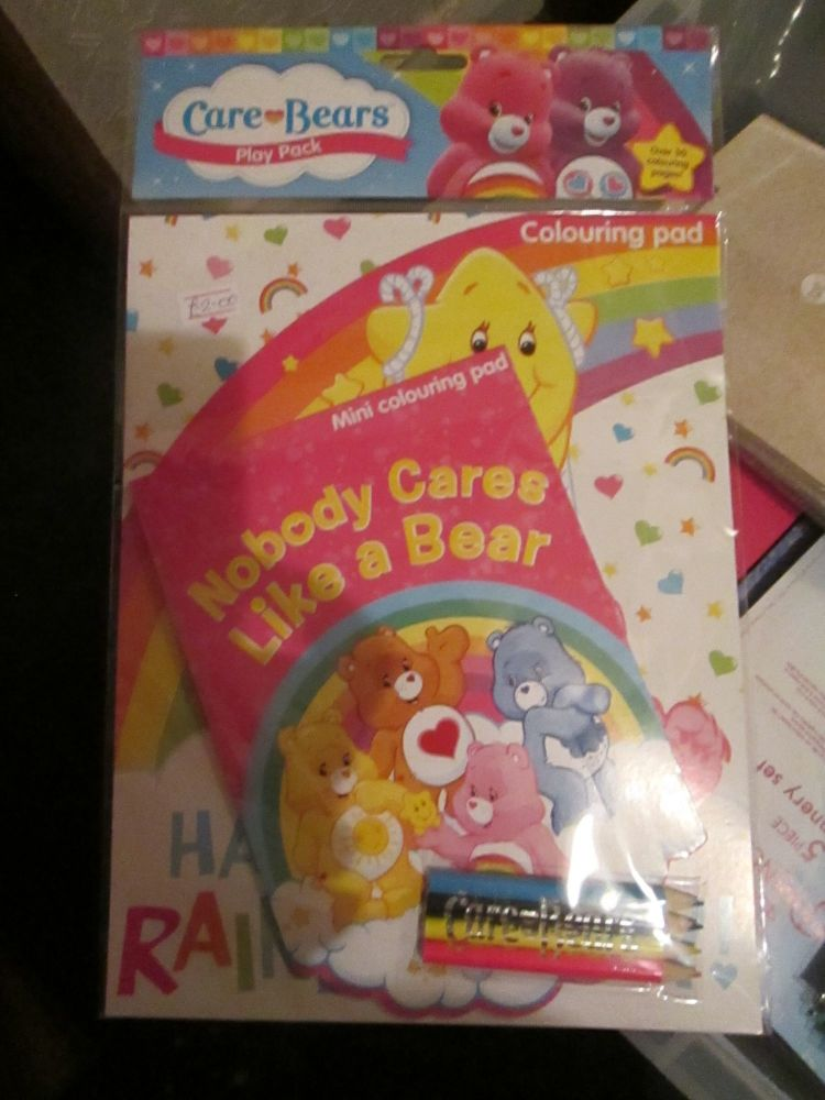 Care Bears - Licensed Colouring Play Pack