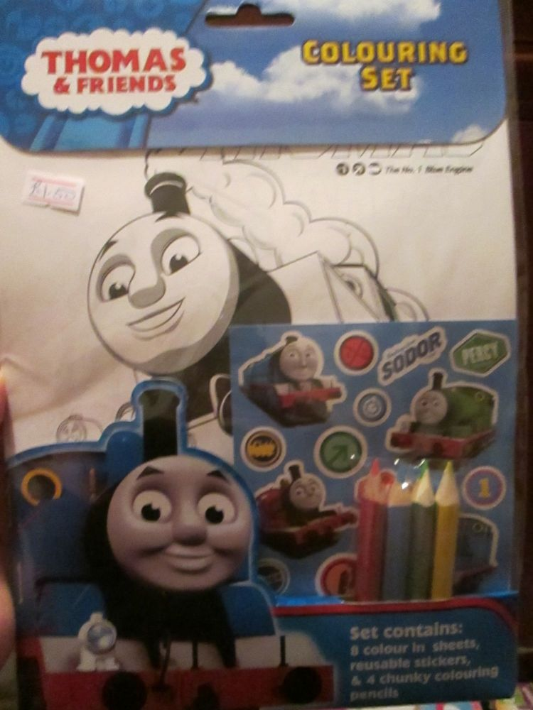 Thomas & Friends - Licensed Colouring Set