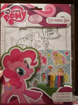 My Little Pony - Licensed Colouring Set