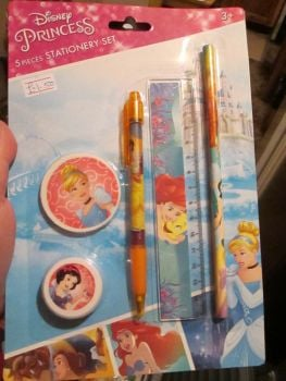 Disney Princess - Licensed 5pc Stationery Set