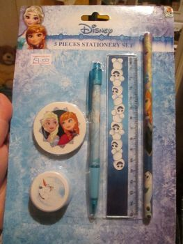 Disney Frozen - Licensed 5pc Stationery Set