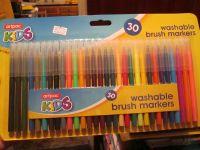 Artpac 30 Washable Brush Markers