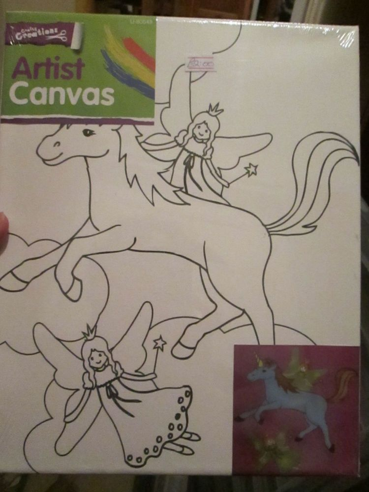 Unicorn - Crafty Creations - Artists Canvas