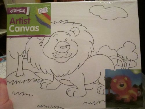 Lion - Crafty Creations - Artists Canvas