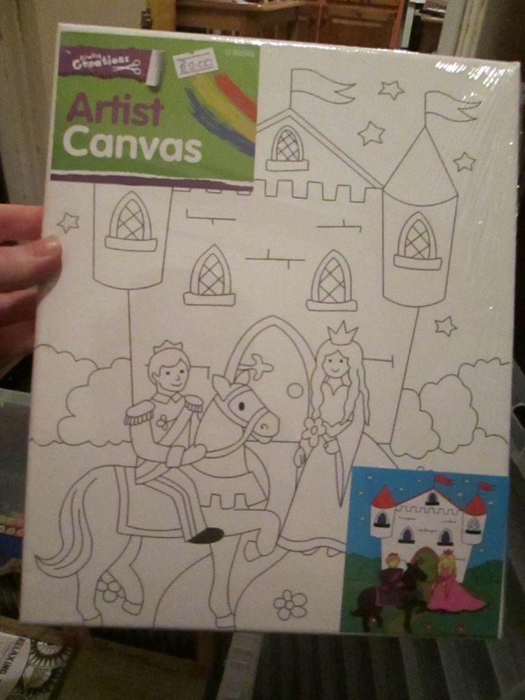 Fairytale Castle - Crafty Creations - Artists Canvas