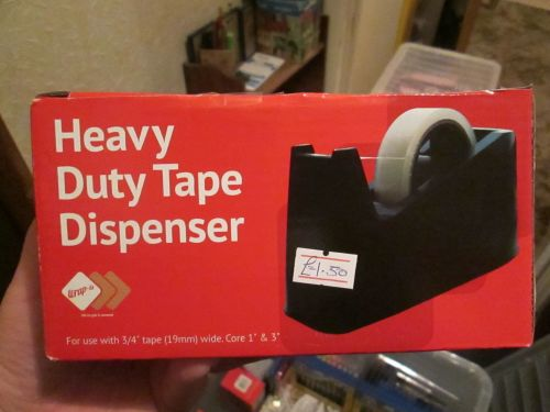 Blue Heavy Duty Tape Dispenser - Wrap-It