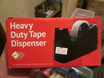 Brown Heavy Duty Tape Dispenser - Wrap-It