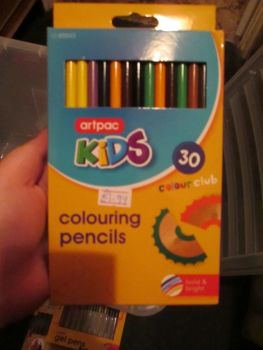 Artpac 30 Colouring Pencils