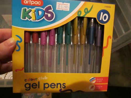 Artpac 10 Metallic Gel Pens