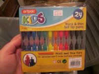 Artpac 24 Tips Thick & Thins Felt Pens