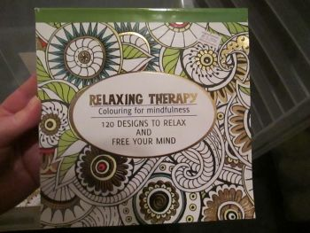 Green 120 Design - Relaxing Therapy - Colouring For Mindfulness