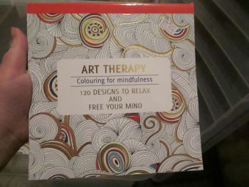 Red 120 Design - Relaxing Therapy - Colouring For Mindfulness